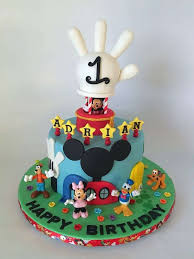 Mickey Mouse 1st Bday Cake Best Mickey Mouse Clubhouse 1st Birthday
