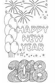 Free asian new year coloring pages