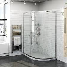 shower enclosures. Exellent Enclosures Orchard 6mm One Door Offset Quadrant Shower Enclosure Throughout Shower Enclosures E