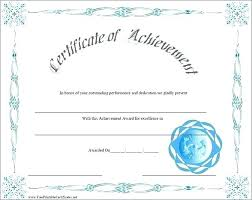 Achievement Awards Templates Academic Achievement Award Template