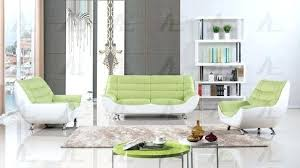 faux leather sofa white 2 two tone design green and white faux leather sofa set cleaning