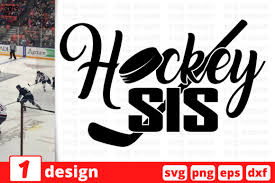 It's high quality and easy to use. Hockey Sis Graphic By Svgocean Creative Fabrica