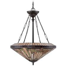 quoizel stephen vintage bronze pendant light off