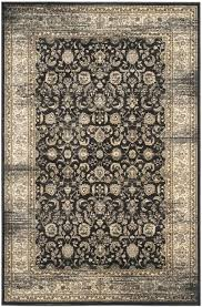 black ivory and rug safavieh hand knotted kenya wool