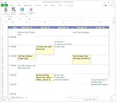 Class Planner Online Semester Course Schedule Template Class Skincense Co