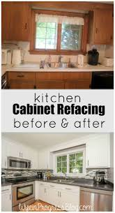 Painting Over Laminate Cabinet Doors Cabinet Refacing Diy Cabinet
