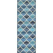 cream and gold area rug unique loom outdoor beige blue geometric runner 2 x 6 size gold cream chevron rug