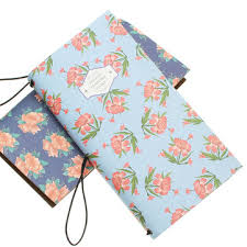 <b>2019 new arrival cute</b> pu leather floral flower schedule book diary ...