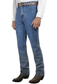 Cinch Bronze Label Slim Fit Medium Stonewash Jeans