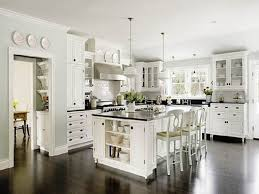 White kitchen dark wood floor Cherry Wood White Cabinets With Dark Wood Floors Choice Image Flooring Tiles Trilopco White Cabinets Dark Wood Floors Blueridgeapartmentscom