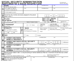 Social Security Application Form US Citizens Overseas who Wish to Renounce without a Social 1