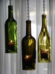 DIY wine bottle candle holders!! Pretty cool ... | DIY Light ...