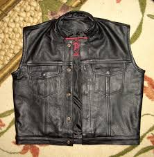 outlaw biker supplies apparel ccw concealed weapons leather biker vest