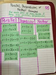 7 best algebra i for arianna images on middle school 2553722 45 new parallel and perpendicular lines worksheet