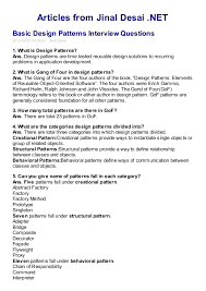 Java Design Patterns Interview Questions Custom Abstract Interview Questions Thevillasco