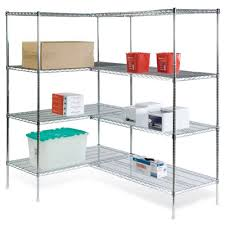 Plastic Coated Wire Racks Shelves Brilliant Wireshelvingcornerunits Corner Wire Shelving 41