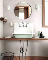 bathroom farm sink. Small Farm Sink Farmhouse Bathroom Porcelain For Laundry Room Throughout Ideas 6