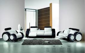 living room with black and white sofa. modern sofa set with genuine leather recliner sofas -in living room from furniture on aliexpress.com | alibaba group black and white