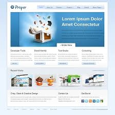 free html5 web template proper free html5 css3 template html5 mania