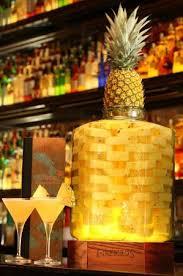 Signature <b>Double Black</b> Diamond <b>Pineapple</b> Infused Martini ...