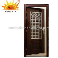 Most Populaar Front Entry Doors For Homes Outside Doors With Grill SC S150