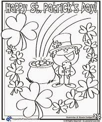 Small Picture Stunning St Patrick Day Coloring Pages Images New Printable