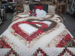 Quilts :: Queen :: Linking Hearts Amish Quilt Queen - Family Farm ... & Discounted Fabrics Adamdwight.com