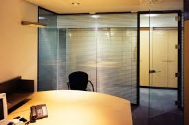 office glass door glazed. Fine Glass Acoustic Frameless Glass Wall Partition System Gallery 1 Throughout Office Door Glazed