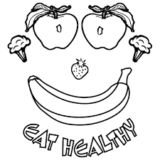 Small Picture Good Healthy Food Coloring Pages 76 For Coloring for Kids with