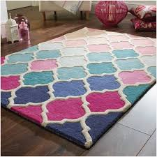 kohl s hallway runners new pink trellis rug awesome illusion roa rugs in pink and blue
