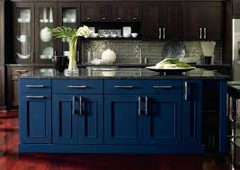 Navy Kitchen Cabinets Uk Rustic Blue Adorable With Gold Hardware Tan