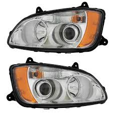 head light factory replacements big rig chrome shop semi truck up31293 kenworth t660 headlight