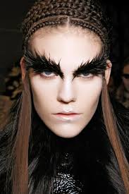 here s what the futuristic makeup will look on your face