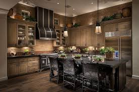 dark rustic cabinets. White Wooden Kitchen Island Colors With Dark Cabinets Sharp Luxury Small Galley Designs Top Cermiac Floor Tiled Rustic Night S