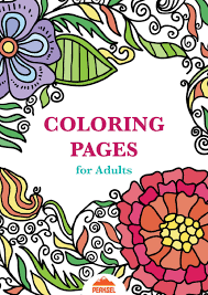 Adults love to color as much as kids do and what better subject than flowers. File Printable Coloring Pages For Adults Free Adult Coloring Book Pdf Wikimedia Commons