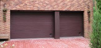 sectional garage door rib