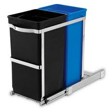 Decorative Kitchen Trash Cans Recycling Bins Trash Recycling Cleaning The Home Depot