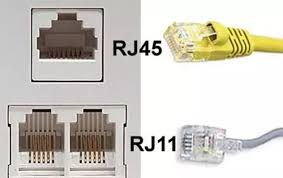 what s the difference between rj11 and rj45 ethernet cables quora rj11