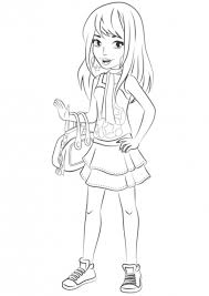 Small Picture Lego friends coloring pages stephanie ColoringStar