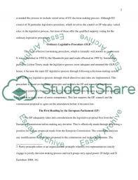 resume cv cover letter process procedure essay example proposal european union legislative process essay example