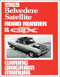 mopar b body road runner parts literature multimedia 1969 plymouth belvedere satellite road runner gtx wiring diagram manual