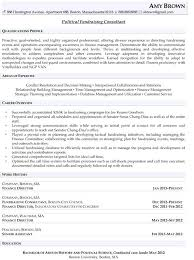 Political Campaign Resume Sample Best of Political Resume Examples Political Fundraising Consultant Resume