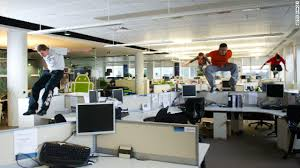 Office pics Desk Free Running Might Not Become An Office Staple But Greater Flexibility And Less Lengthy Meetings Go Trashy Generation Y Set To Transform Office Life Cnn