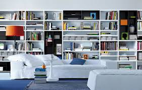 contemporary wall units for living room. contemporary wall unit-library poliform units for living room