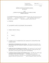 memorandum of understanding templatereference letters words memorandum of understanding template 2627280 png