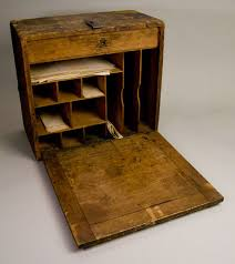 antiques and collectibles civil war field desk