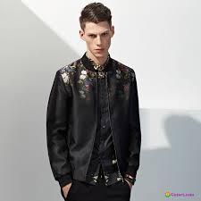jacket men s grant flower fashion spring flowers trend dark green jacket uk