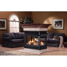 napoleon gvf40 vent free natural gas island fireplace