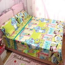 monster bedding set new design children cartoon monsters university bedding set kids cotton monsters inc company monster bedding set monsters inc