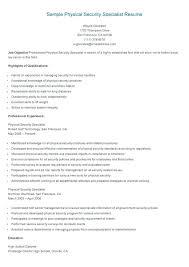 Security Resume Template Security It Security Resume Template